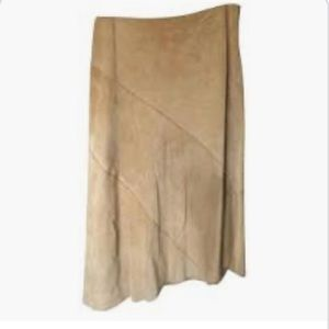 Excellent condition Leather BR asymmetrical skirt